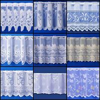 Choice Of Fantastic Quality Cafe Net Curtains - Sold By The Metre - Free Postage