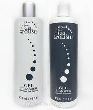 IBD Just Gel Polish DUO- GEL CLEANSER + GEL REMOVER 16oz/473mL