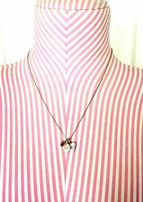 """Sterling Silver Chain With 3 Piece Pendant 18"""" Long"""