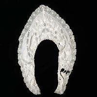 Antique victorian 1800s handmade pelerine collar AS IS!