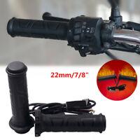 22 mm Adjustable Motorcycle Electric Heated Handle bar Motorbike Heating Grips