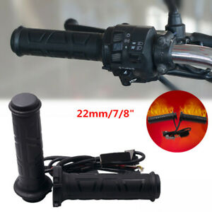 22 mm Adjustable Motorcycle Electric Heated Handle bar Motorbike Heating Grips