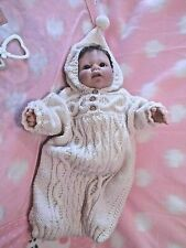 """""""BABY  CHRISTIAN"""" BREATH OF LIFE BABY BY REVA SCHICK FOR MIDDLETON DOLLS"""