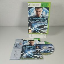 CARRIER COMMAND GAEA MISSION Xbox 360 Action Video Game Anleitung PAL