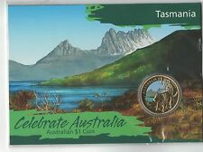 2009 Celebrate Australia - Tasmania $1 Carded Coin