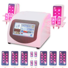 160mW Hot LLLT Lipo Laser Lipolysis Cellulite Removal Fat Burning  650nm 10 Pads