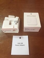CARGADOR ORIGINAL APPLE USB 12W PRECINTADO MD836ZM/A (A1401) IPAD IPHONE IPOD