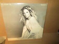 BARBRA STREISAND - CLASSICAL BARBRA rare Vinyl Lp Columbia Masterworks 1976 VG+