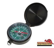 OUTBACK Deluxe Map Compass, Liquid Filled