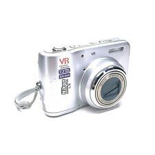 Nikon Coolpix L5 7.2 MP 5.0x Optical Zoom Lens Silver Tested & Working