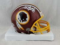 Adrian Peterson Autographed Washington Redskins Mini Helmet - Beckett Auth *Wh