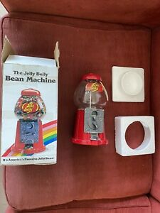 Original Boxed The Jelly Belly Bean Machine Dispenser - 1996 - Herman Goelitz
