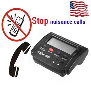 Landline Phones Caller ID Box Call Blocker Cold Unwanted Calls Blocking O8E6