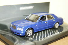 Bentley Arnage t 2003 bleu 1:43 MINICHAMPS NEUF & OVP 436139070