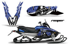 YAMAHA APEX GRAPHIC KIT AMR RACING SNOWMOBILE SLED WRAP DECAL 12-13  REAPER BLUE