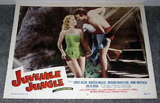 YVETTE VICKERS original 1958 BAD GIRL movie lobby card JUVENILE JUNGLE 11x14