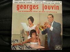VINYL 45 T – 60'S POP KITSCH EASY – GEORGES JOUVIN – BANJO BOY + 3 – PATHE FRANC