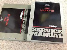 1995 Lincoln Mark VIII Service Repair Shop Workshop Manual OEM Set EVTM Factory