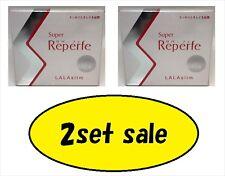 Japan Lala Slim Super Reperfe Diet Enzyme constipation supplement 60 Tablets X 2