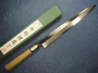 Japanese Sakai Ichimonji Kichikuni White Steel Yanagiba Sashimi Knife 270mm
