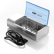 Universal For AA AAA C and D Size 9V Ni-MH Ni-CD Rechargeable Battery Charger