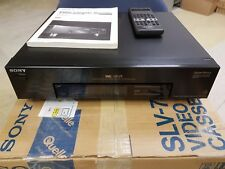 Sony high-end VHS Recorder slv-757vp con accessori in scatola originale solo tono troppo bassa