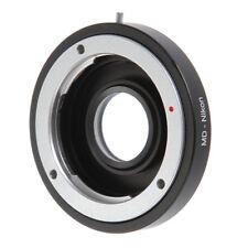 Minolta D MD Lens to Nikon F Camera Adapter Glass Focus Infinity D800 D750 D7100