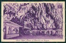 Slovenia Grotte di Postumia Poste nel Cavernone dei Concerti cartolina ZC1252