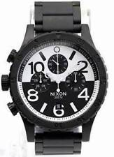 New Nixon 48-20 A4862052 Chrono Black White Watch A486-2052 Star Wars Colors