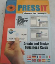 PRESSIT eBUSINESS CARD LABELLING KIT