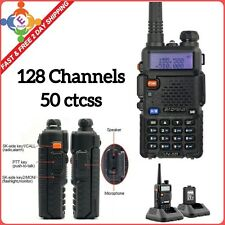 Handheld Radio Scanner Police Fire Transceiver Portable Antenna EMS HAM Two Way