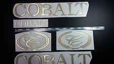 """Cobalt boat Emblem 20"""" GOLD + FREE FAST delivery DHL express"""