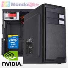 PC Computer Intel i5 7400 3,00 Ghz - Ram 8 GB DDR4 - HD 1 TB - nVidia GT730
