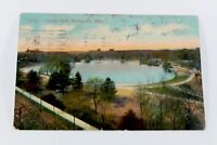 Vintage Minneapolis Loring Park Postcard 1914 Rare Greeting Card Collectible