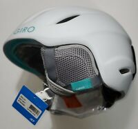 GIRO NINE JR Kids Snow Sports Helmet, Matte White - Medium 55.5-59cm/21.75-23in.