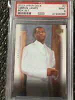 2003 Upper Deck Box Set LeBron James ROOKIE RC #7 PSA 9 MINT (low pop)