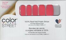 CS Nail Strips Caribbean Coral 100% Nail Polish - USA Made!