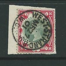 GB – QV 1887 Jubilee – SG214 1s green & carmine - VFU with CDS