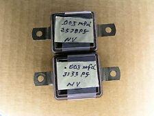 S00625J (1 piece lot) 3000 pf .003 mfd 500 Volt +-15% film silver mica capacitor
