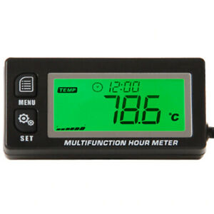 Backlight LCD Gasoline Inductive Multifunction Tachometer Thermometer HM-A028