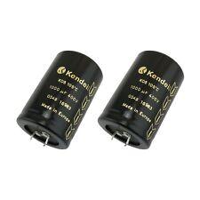 2 pcs 1000uf 400v KENDEIL Electrolytic Capacitor k05 LOWESR 105 ° c terminals