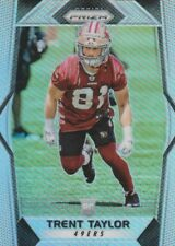 2017 PANINI PRIZM TRENT TAYLOR WR 49ERS ROOKIE #268 PRIZM REFRACTOR SP HOT!