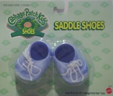 Cabbage Patch Kids Doll Shoes - CPK Blue Saddle Shoes  - BRAND NEW