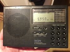 Radio Shack DX-375 AM/SW/FM Radio