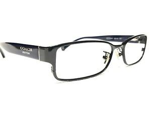 Coach Spenser HC5031 9003 Women's Black & Blue Rx Eyeglasses Frames 53/16~135