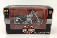 Harley Davidson Softail Standard Motorcycle Replica 2001 Maisto New