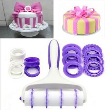 Cake Rolled Roller Fondant Pastry Cutters Decoration Baking Lace Wheel Tools