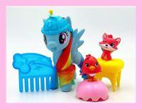 """MLP 3"""" Rainbow Dash w/ Hatchimal Friends"""