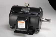 3 hp electric motor 145t 3 phase open drip proof 3475 rpm 208-230/460 volt