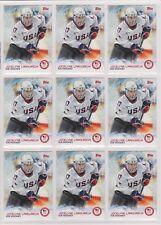 (9) 2014 TOPPS OLYMPIC JOCELYNE LAMOUREUX CARD #53 LOT ~ ICE HOCKEY